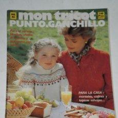 Coleccionismo de Revistas y Periódicos: REVISTA MON TRICOT , PUNTO & GANCHILLO . M86 . OCTUBRE 1980 .. Lote 34634488