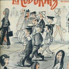Coleccionismo de Revistas y Periódicos: LA CODORNIZ Nº 1530 - 14 III 1971 . Lote 34660277