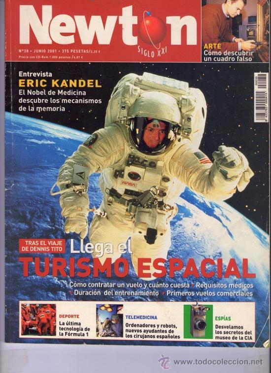 REVISTA NEWTON NR. 38 JUNIO 2001 (Coleccionismo - Revistas y Periódicos Modernos (a partir de 1.940) - Otros)