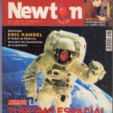 Coleccionismo de Revistas y Periódicos: REVISTA NEWTON NR. 38 JUNIO 2001. Lote 34663664