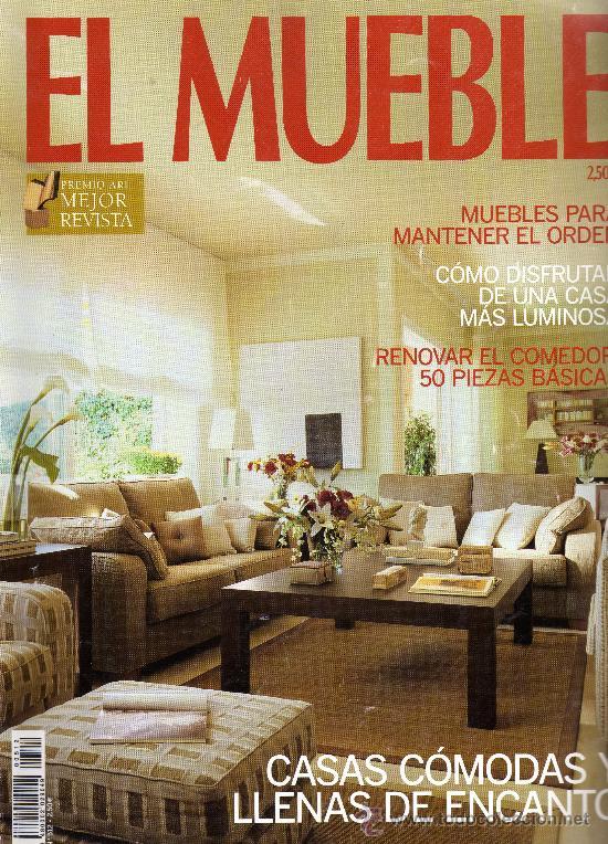 revista el mueble n casas cmodas y llenas de encanto revistas y