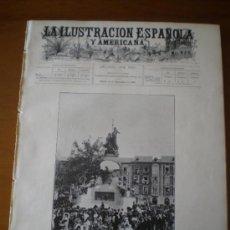 Coleccionismo de Revistas y Periódicos: ILUSTRACION ESPAÑOLA/AMERICANA (22/09/05) VALLADOLID MADRID MILITAR RUSIA ACORAZADO CAUCASO COLON. Lote 34794431