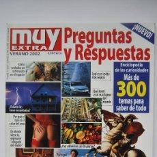Coleccionismo de Revistas y Periódicos: REVISTA MUY. EXTRA VERANO 2002 PREGUNTAS Y RESPUESTAS. Lote 34796076