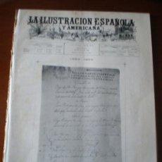 Coleccionismo de Revistas y Periódicos: ILUSTRACION ESPAÑOLA/AMERICANA (06/06/99) VELAZQUEZ. Lote 34847248
