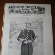 Coleccionismo de Revistas y Periódicos: ILUSTRACION ESPAÑOLA/AMERICANA (22/03/04) VIGO PONTEVEDRA SEGOVIA AVILA PALENCIA BENAIGES BURGOS. Lote 34896695