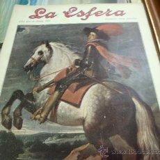 Coleccionismo de Revistas y Periódicos: REVISTA LA ESFERA AÑO 1920 Nº 361.. Lote 34898578