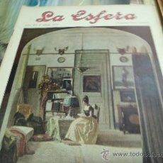 Coleccionismo de Revistas y Periódicos: REVISTA LA ESFERA AÑO 1920 Nº 353. Lote 34898601
