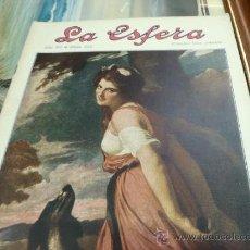 Coleccionismo de Revistas y Periódicos: REVISTA LA ESFERA. Nº 349.. Lote 34898610
