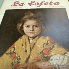 Coleccionismo de Revistas y Periódicos: REVISTA LA ESFERA AÑO 1920 Nº 340. Lote 34898641