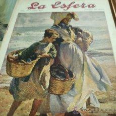 Coleccionismo de Revistas y Periódicos: REVISTA LA ESFERA AÑO 1920 Nº 335. Lote 34898664