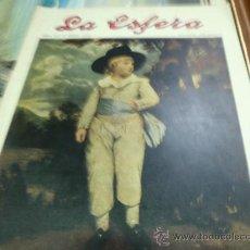 Coleccionismo de Revistas y Periódicos: REVISTA LA ESFERA AÑO 1920 Nº 333. Lote 34898669
