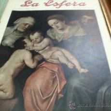 Coleccionismo de Revistas y Periódicos: REVISTA LA ESFERA AÑO 1920 Nº 359.. Lote 34898770