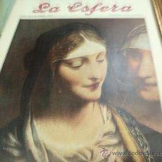 Coleccionismo de Revistas y Periódicos: REVISTA LA ESFERA AÑO 1920 Nº 357. Lote 34898774