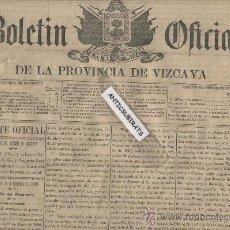 BOLETIN VIZCAYA AÑO 1891 EXPROPIACION MINA LORENZA OTTO KREIZNER SAN LORENZO SOMORROSTRO OROZCO