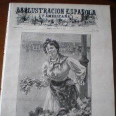 Coleccionismo de Revistas y Periódicos: ILUSTRACION ESPAÑOLA/AMERICANA (22/05/04) PALMA DE MALLORCA DANIEL URRABIETA MADRID SALAMANCA . Lote 34908994