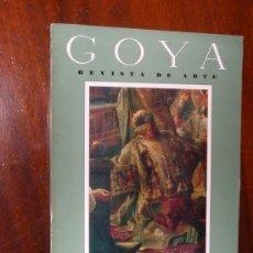 Coleccionismo de Revistas y Periódicos: REVISTA DE ARTE GOYA Nº 63 1964 . Lote 34912338