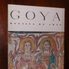 Coleccionismo de Revistas y Periódicos: REVISTA DE ARTE GOYA Nº 62 1964 . Lote 34912379