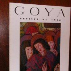 Coleccionismo de Revistas y Periódicos: REVISTA DE ARTE GOYA Nº 61 1964 . Lote 34912398