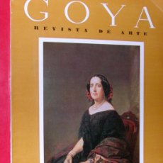 Coleccionismo de Revistas y Periódicos: REVISTA DE ARTE GOYA Nº 60 1964 . Lote 34912435