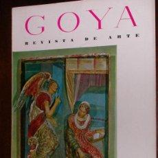 Coleccionismo de Revistas y Periódicos: REVISTA DE ARTE GOYA Nº 47 1962 . Lote 34912573