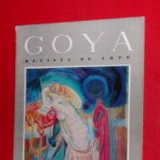 Coleccionismo de Revistas y Periódicos: REVISTA DE ARTE GOYA Nº 48 1962 . Lote 34912607