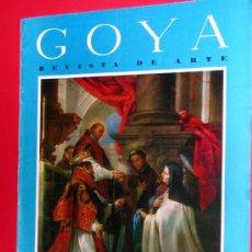 Coleccionismo de Revistas y Periódicos: REVISTA DE ARTE GOYA Nº 53 1963 . Lote 34912675
