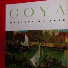 Coleccionismo de Revistas y Periódicos: REVISTA DE ARTE GOYA Nº 69 1965 . Lote 34912813