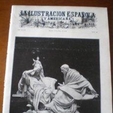 Coleccionismo de Revistas y Periódicos: ILUSTRACION ESPAÑOLA/AMERICANA (30/05/04) EXPOSICION NACIONAL DE BELLAS ARTES 1904. Lote 34958652