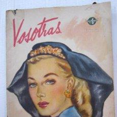 Coleccionismo de Revistas y Periódicos: REVISTA LABORES Y MODA. VOSOTRAS, NUMERO 597 MARZO 1947. Lote 34923076
