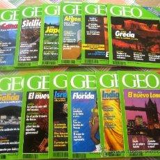Coleccionismo de Revistas y Periódicos: GEO - LA NUEVA VISIÓN DEL MUNDO - AÑO 1992 COMPLETO EN ESTUPENDO ESTADO. CON SUS GUÍAS TEMÁTICAS . Lote 34943652