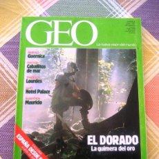 Coleccionismo de Revistas y Periódicos: GEO - LA NUEVA VISIÓN DEL MUNDO - MAYO 1987 EN ESTUPENDO ESTADO.. Lote 34943985
