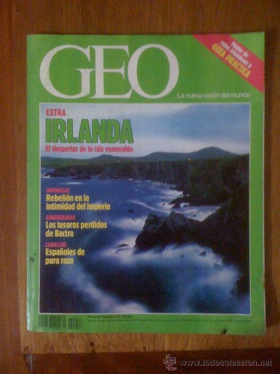 GEO. N° 56. IRLANDA: EL DESPERTAR DE LA ISLA ESMERALDA (Coleccionismo - Revistas y Periódicos Modernos (a partir de 1.940) - Otros)