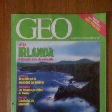 Coleccionismo de Revistas y Periódicos: GEO. N° 56. IRLANDA: EL DESPERTAR DE LA ISLA ESMERALDA. Lote 35064562