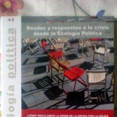 Coleccionismo de Revistas y Periódicos: ECOLOGÍA POLÍTICA-CUADERNOS DE DEBATE INTERNACIONAL-;Nº42;ICARIA 1990;¡NUEVA!. Lote 35066358