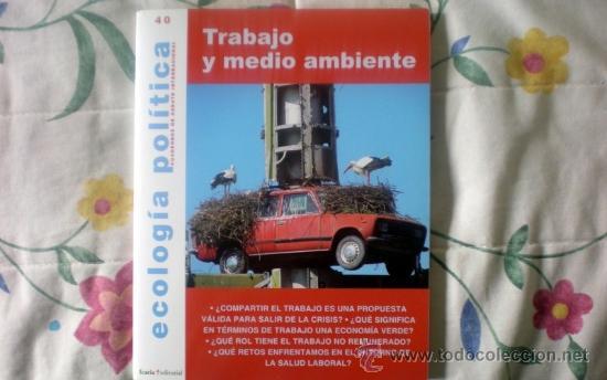 ECOLOGÍA POLÍTICA-CUADERNOS DE DEBATE INTERNACIONAL-;Nº40;ICARIA 1990;¡NUEVA! (Coleccionismo - Revistas y Periódicos Modernos (a partir de 1.940) - Otros)