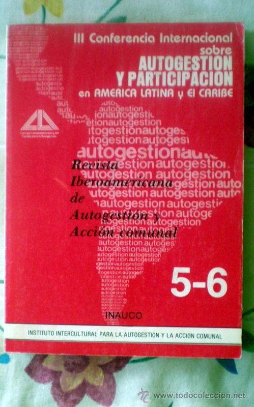 REVISTA IBEROAMERICANA DE AUTOGESTION Y ACCION COMUNAL;NºS 5-6;1983 (Coleccionismo - Revistas y Periódicos Modernos (a partir de 1.940) - Otros)