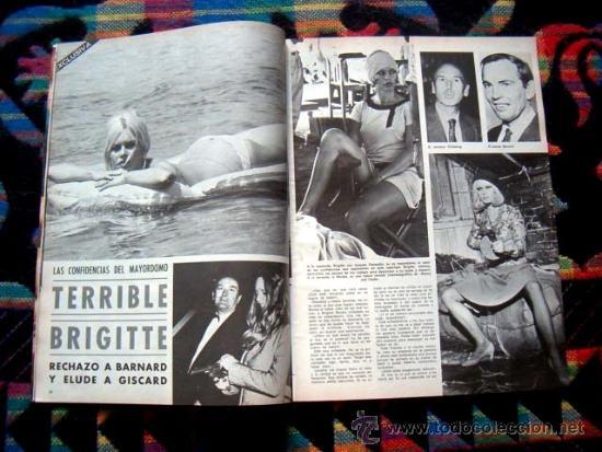 Coleccionismo de Revistas y Periódicos: REVISTA PERSONAS Nº 16 / DAVID JANSSEN, BRIGITTE BARDOT, MYLENE DEMONGEOT, FLORINDA BOLKAN, y +++++ - Foto 2 - 35108822