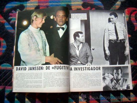 Coleccionismo de Revistas y Periódicos: REVISTA PERSONAS Nº 16 / DAVID JANSSEN, BRIGITTE BARDOT, MYLENE DEMONGEOT, FLORINDA BOLKAN, y +++++ - Foto 4 - 35108822