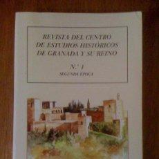 Coleccionismo de Revistas y Periódicos: REVISTA DEL CENTRO DE ESTUDIOS HISTÓRICOS DE GRANADA Y SU REINO Nº 1 SEGUNDA ÉPOCA. Lote 35115552