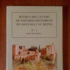 Coleccionismo de Revistas y Periódicos: REVISTA DEL CENTRO DE ESTUDIOS HISTÓRICOS DE GRANADA Y SU REINO. Nº 2 SEGUNDA ÉPOCA. Lote 35115857