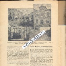 Coleccionismo de Revistas y Periódicos: REVISTA AÑO 1910 DOCTOR ROBERT MONUMENTOS ARENYS DE MAR SITGES CALDES DE MONTBUI MONTBUY . Lote 35175943