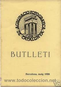 10 NUMEROS DEL 'BUTLLETÍ AGRUPACIÓ FOTOGRÁFICA CATALUNYA' 1928. 20 PGS. 17 X 24 CM. CADA EXEMPLAR (Coleccionismo - Revistas y Periódicos Antiguos (hasta 1.939))