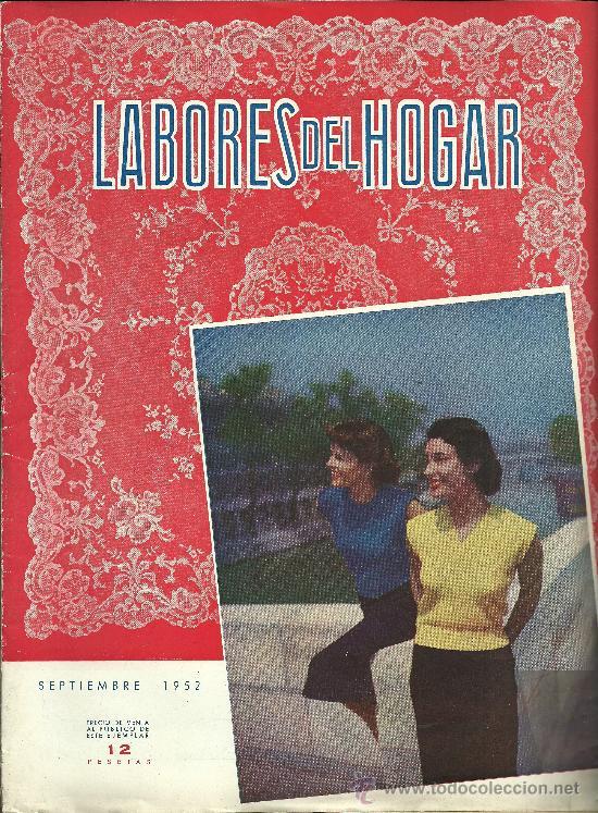 Coleccionismo de Revistas y Periódicos: REVISTA LABORES DEL HOGAR - Nº 1 - SEPTIEMBRE 1952 - Foto 1 - 35206170