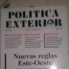 Coleccionismo de Revistas y Periódicos: POLÍTICA EXTERIOR;Nº 139;ENERO-FEBRERO 2011;¡NUEVA!. Lote 35208315