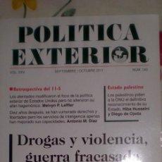 Coleccionismo de Revistas y Periódicos: POLÍTICA EXTERIOR;Nº143;SEPTIEMBRE-OCTUBRE 2011. Lote 35208405