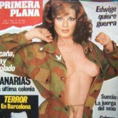 Coleccionismo de Revistas y Periódicos: REVISTA PRIMERA PLANA Nº 31 / 1977 / EDWIGE FENECH DESNUDA. Lote 35217507