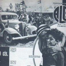 Coleccionismo de Revistas y Periódicos: REVISTA ALGO POPULAR 1934 Nº 261 VINAGRE - MAQUINA ESCRIBIR HISTORIA GOYA. Lote 35228731