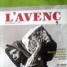 Coleccionismo de Revistas y Periódicos: L´AVENÇ;Nº365;FEBRERO 2011;¡NUEVA!. Lote 35236791