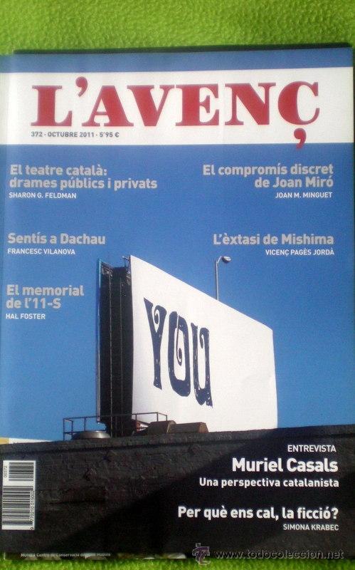 L´AVENÇ;Nº372;OCTUBRE 2011;¡NUEVA! (Coleccionismo - Revistas y Periódicos Modernos (a partir de 1.940) - Otros)