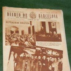 Coleccionismo de Revistas y Periódicos: DIARIO DE BARCELONA - MIERCOLES, 8 DE NOVIEMBRE DE 1950. Lote 35237836